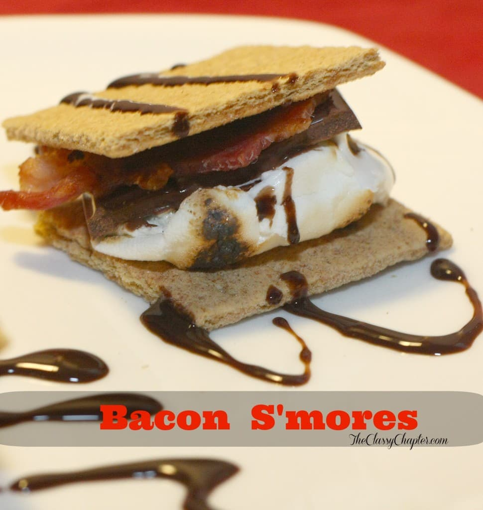 Bacon, Chocolate and Marshmallows! This is one dessert that you simply can't go wrong with!