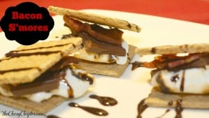 Easy Dessert Recipe: Bacon S'mores Recipe