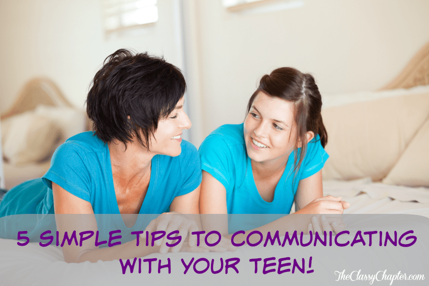 Communicating with your teen is so important. These 5 tips will help you ensure you are keeping the lines of communication open.