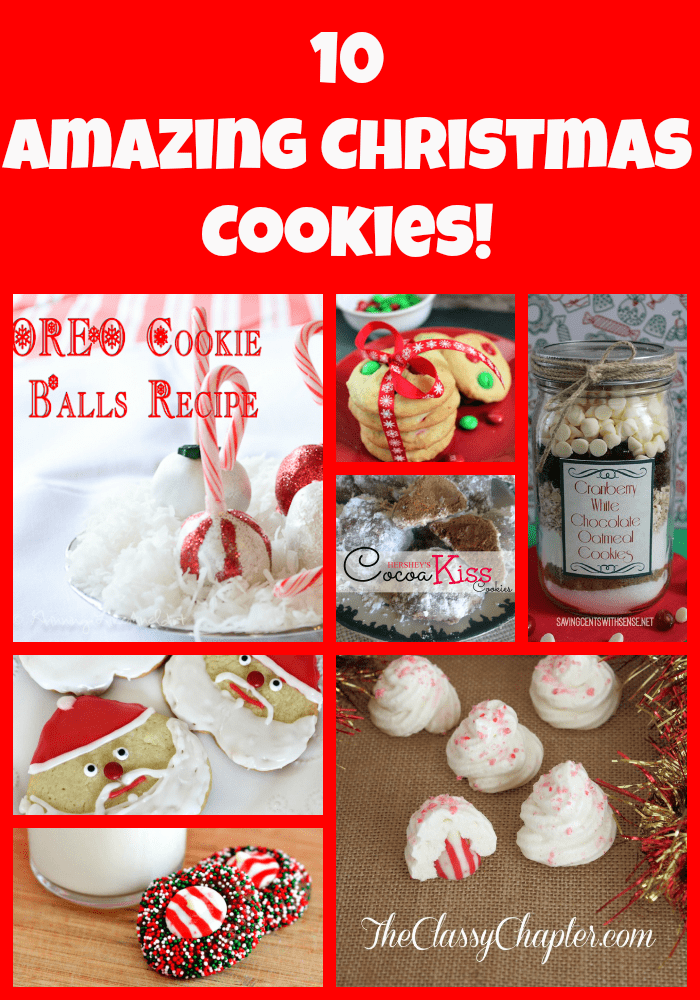 Looking for Christmas cookies to bake this holiday season? Look no further! Love #6