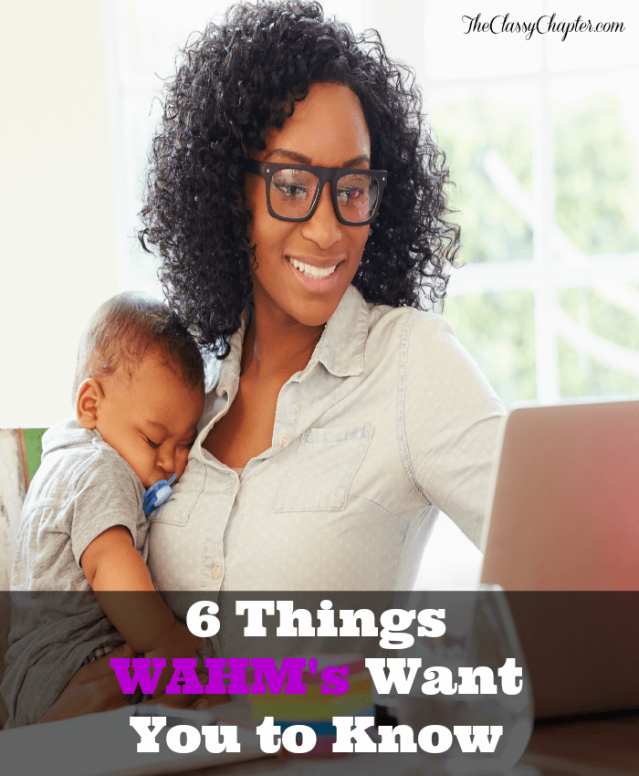 A must read for anyone who things WAHM's don't really work. Number 2 is spot on!