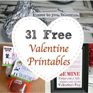 31 Free Valentine Printables
