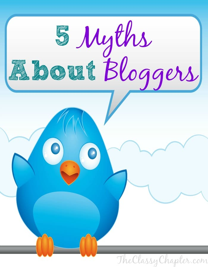 If you don't understand blogging and what a blogger does, you might have some opinions that aren't correct. Blogging is hard work! Let's debunk some of those blogging myths now.