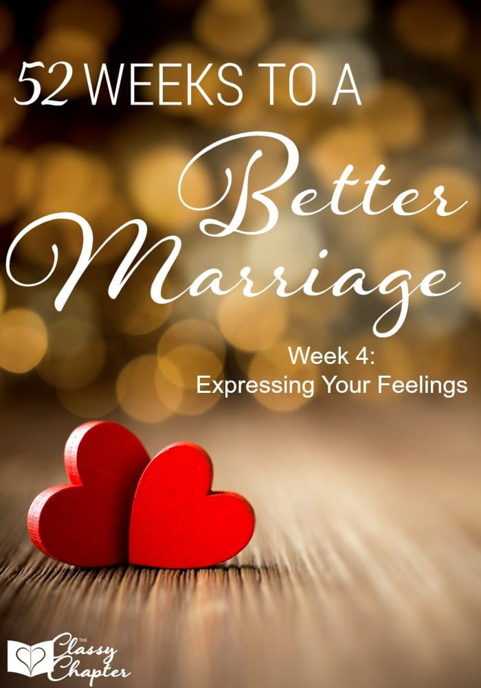 We should all be working on making our marriage better. Following along each week for different tasks and goals to improve our marriages.