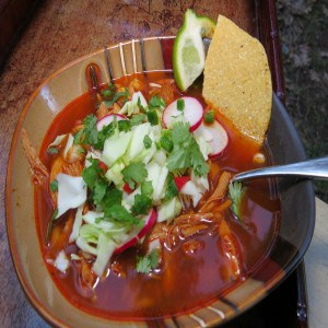 Homemade Posole