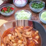 This homemade posole dish is the real deal! Authentic and super tasty, a must try!