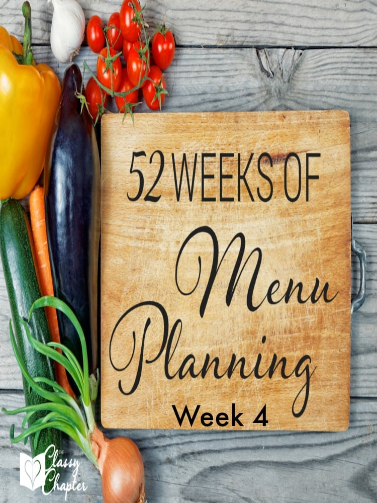 In need of some menu planning ideas? This list has so many good options!