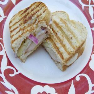 Chicken & Artichoke Panini Sandwich