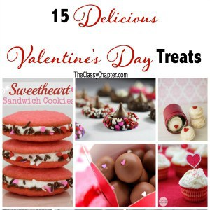 15 Delicious Valentine's Day Treats