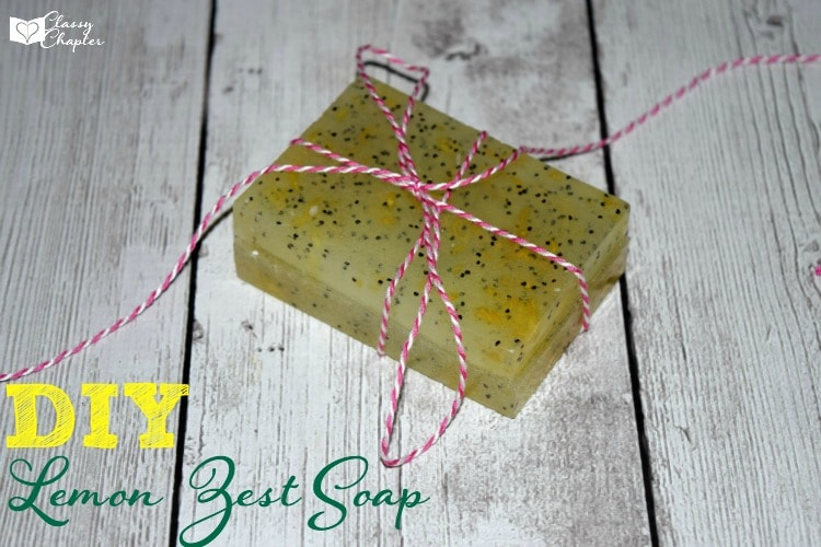 Looking for a homemade soap recipe? This one is amazing and smells so good!