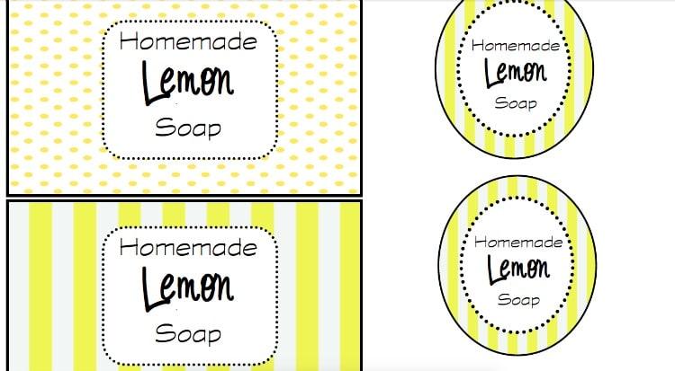 Homemade Soap Ideas - Lemon Zest Soap