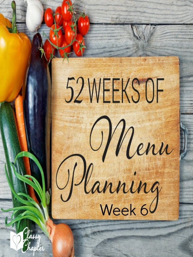 Free meal planning ideas, complete with a free printable. Monday's dinner looks amazing!