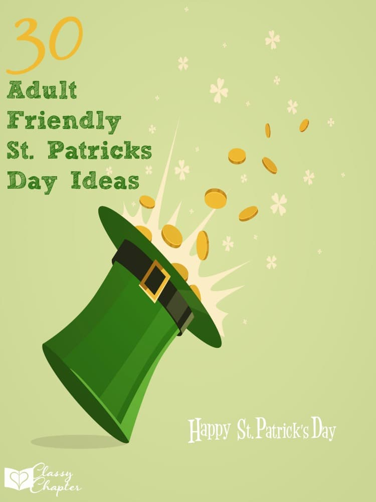 In need of some st. patricks day ideas? This list is awesome and includes so many adult friendly activities!
