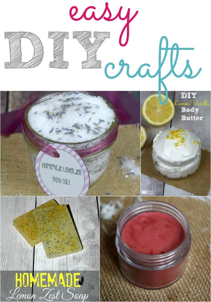 Easy DIY crafts are my favorite! Easy crafts just make life easier. Everything from homemade beauty products to fun crafts for the kids!