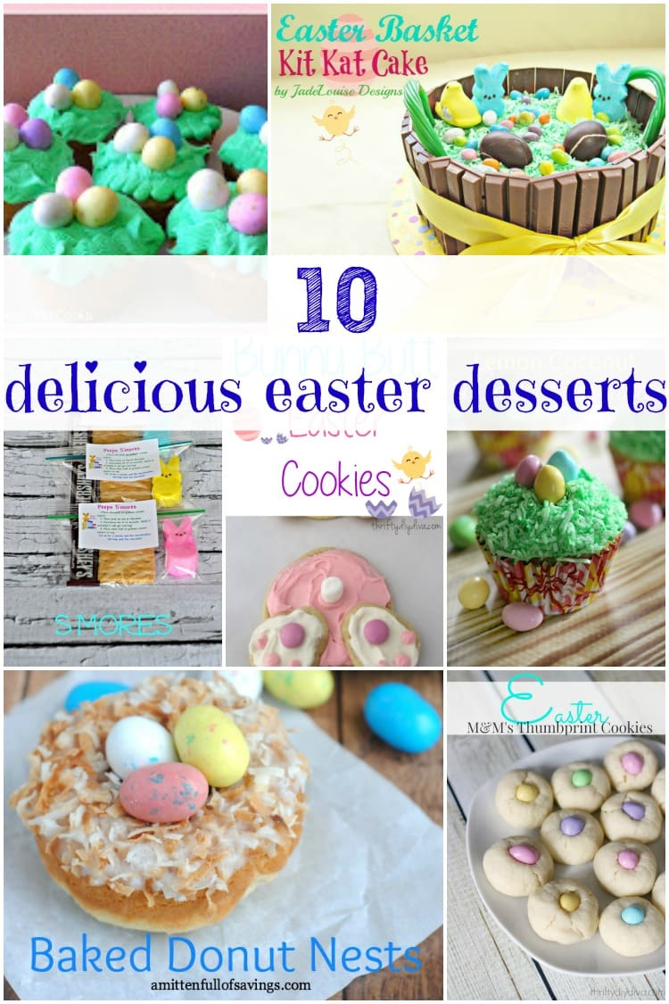 Need some easy Easter desserts? These Easter recipes are so yummy and super easy to make. You gotta try #6