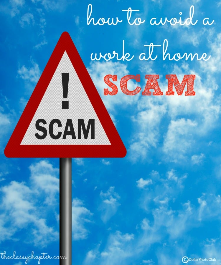 Working from home is rewarding but finding the perfect job comes with risks. Here are tips to help you avoid a work at home scam.