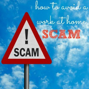 How to Avoid a Work at Home Scam