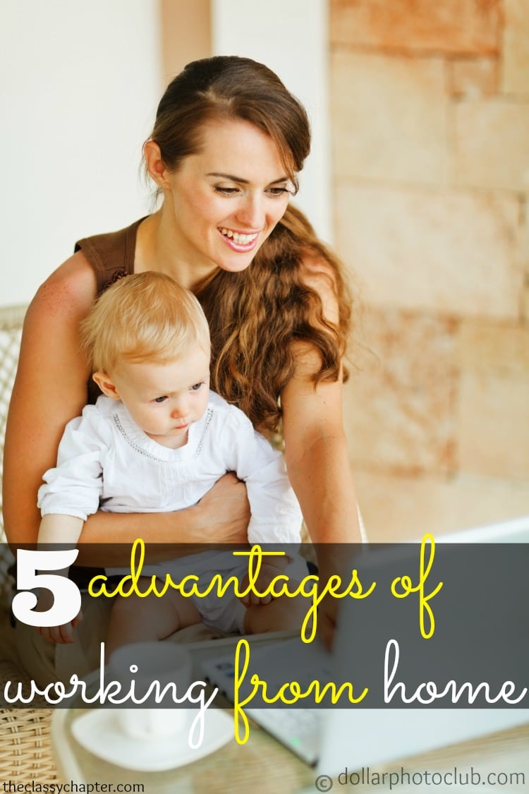 5 advantages of working from home