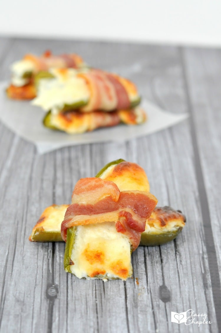 Need an easy appetizer? These bacon wrapped jalapeños are so delicious and easy to make!