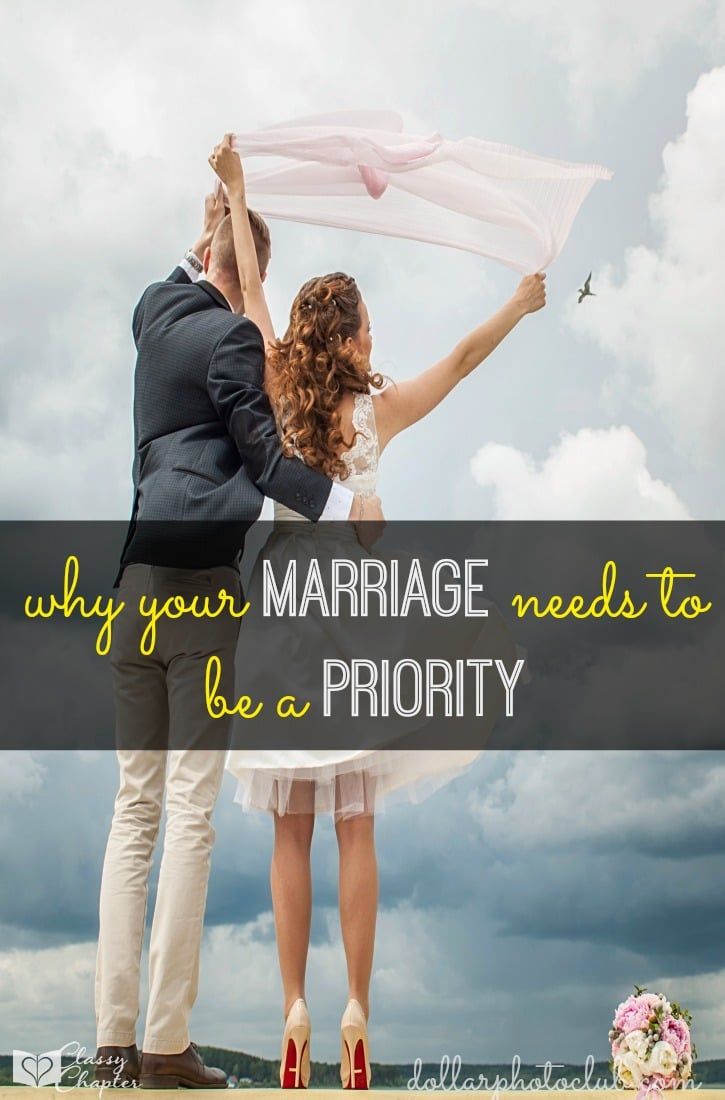 Is your marriage a priority? If not it needs to be! These marriage tips are perfect for getting any marriage back on track.