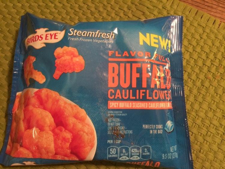 bag of cauliflower