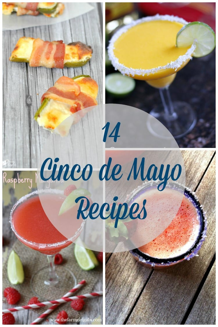 Need some Cinco de Mayo party inspiration? These Cinco de Mayo recipes are amazing!