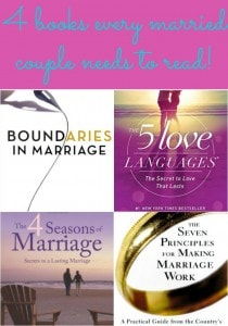 4 books every married couple needs to read!