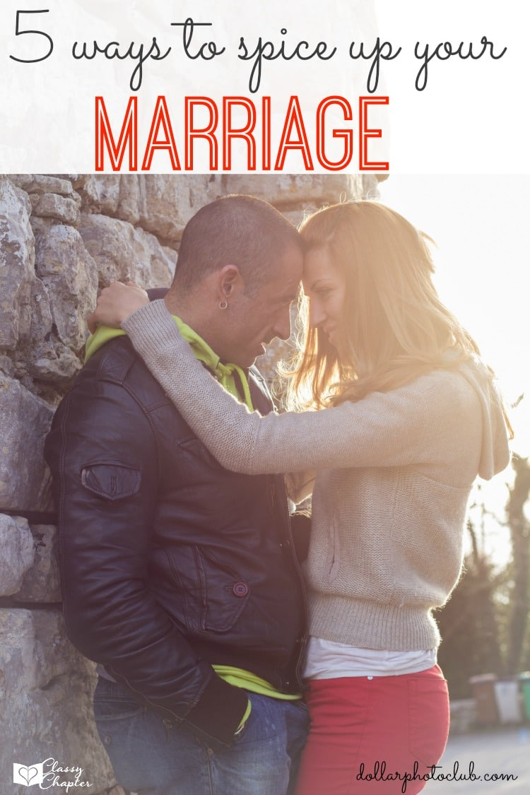 Need some fun ways to spice up your marriage? These tips are perfect for any marriage. #4 is great!