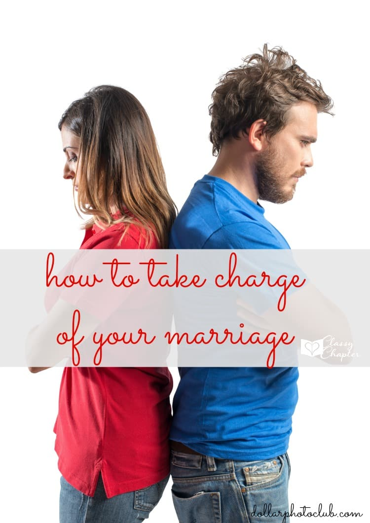 Has your marriage hit a rough spot? It's time to take charge of your marriage and make it better!