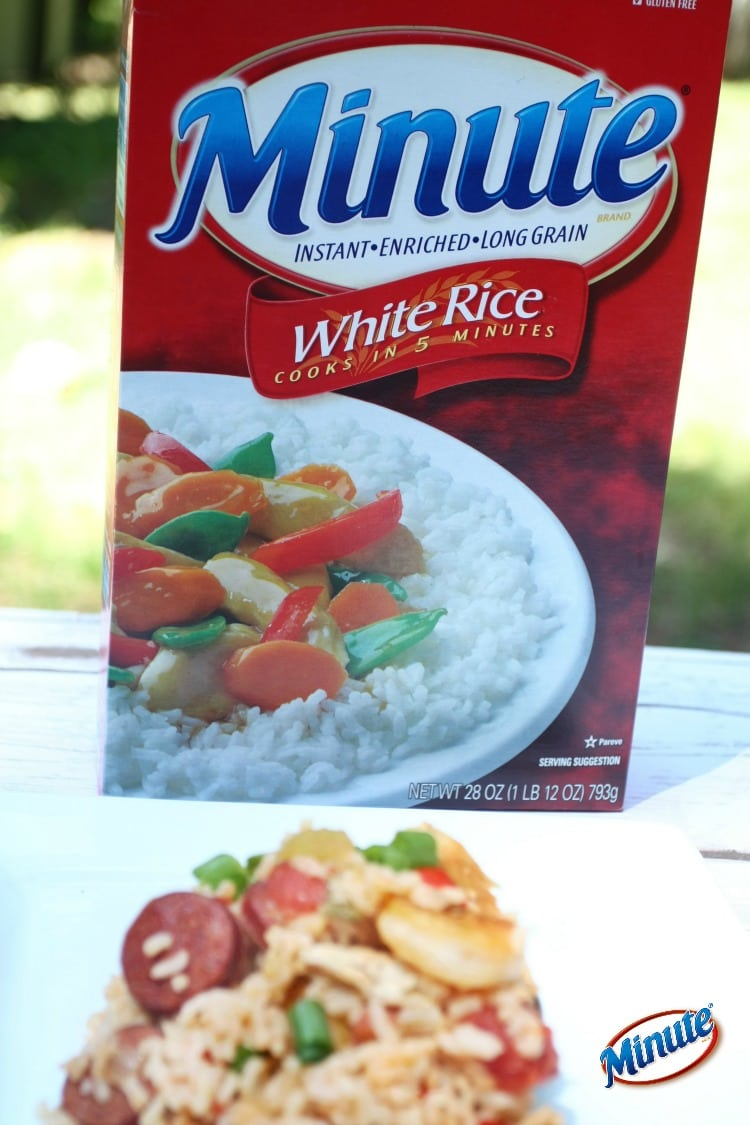 Easy to make dinner using Minute Rice