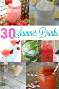 30 Tasty Summer Drinks
