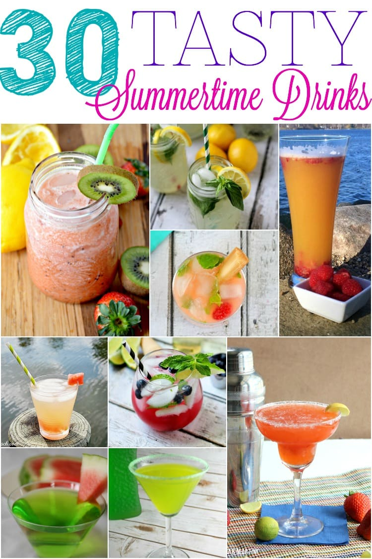 30 Summer Drink Recipes