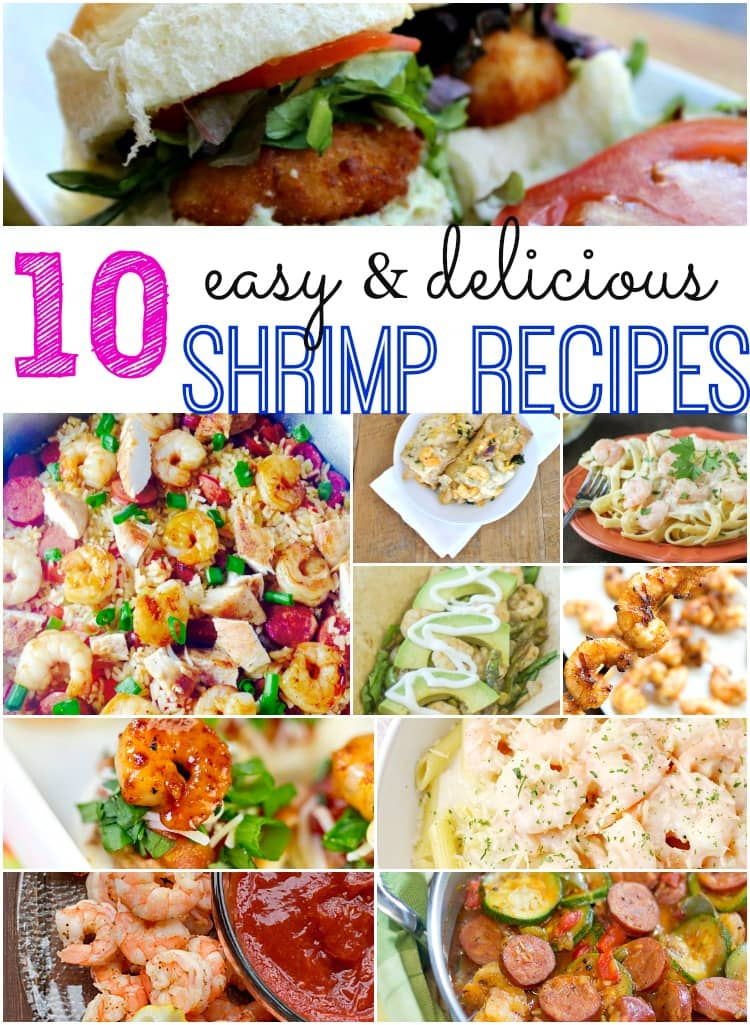 In need of an easy shrimp recipe? These 10 shrimp recipes are perfect for an easy dinner.