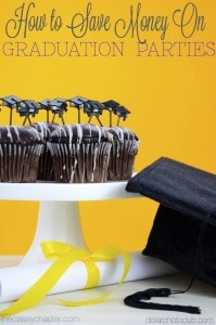 How to Save Money on A High School Graduation Party