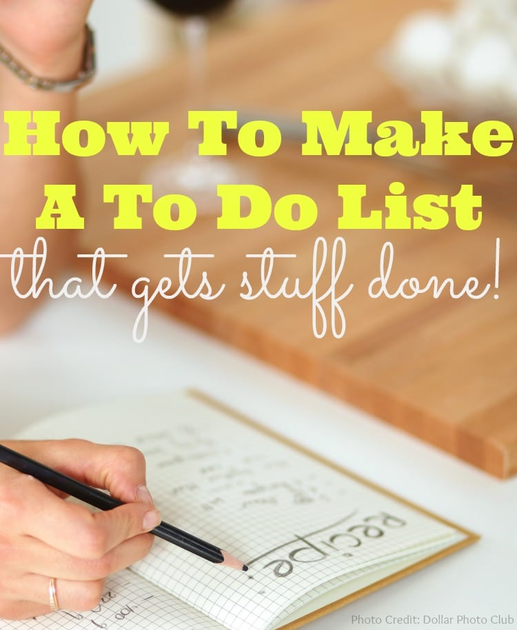 Is time management driving you crazy? Have you given up on making your daily to do list? These tips will help you make an effective to do list, that gets stuff done!