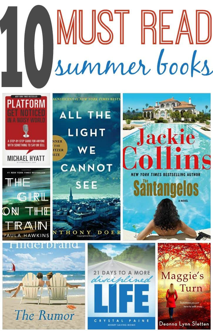 Need some books to add to your summer reading list? These books are perfect for summer.