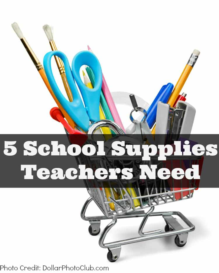What school supplies does your child's teacher need this year? This list of back to school supplies will help any teacher out.