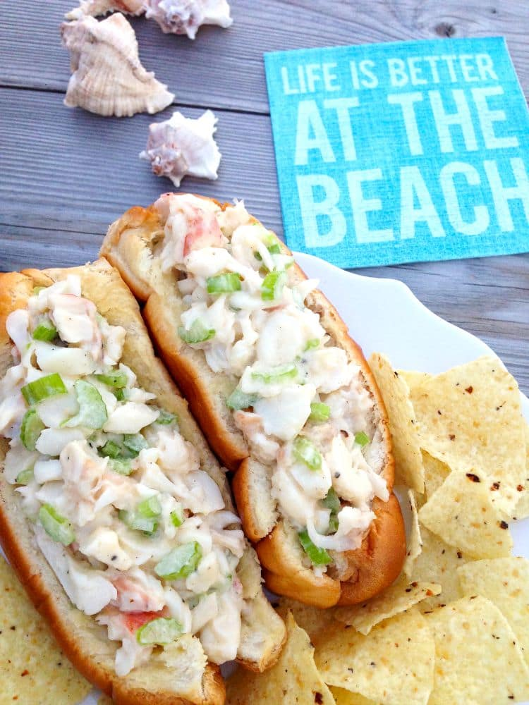 Lobster recipes are not always easy to make or find but this lobster roll recipe is easy and delicious.