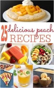 25 Peach Recipes