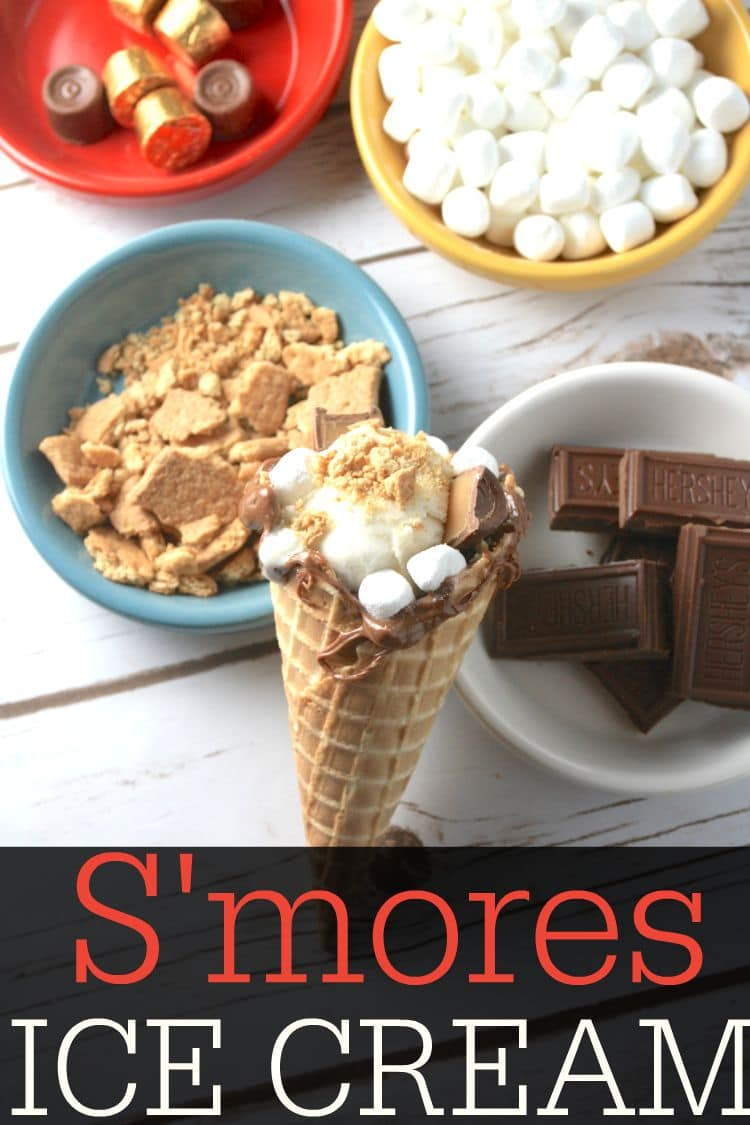 Looking for a smores dessert recipe? This no bake dessert recipe is so yummy, the whole family will love it. This smores ice cream recipe is a must try!