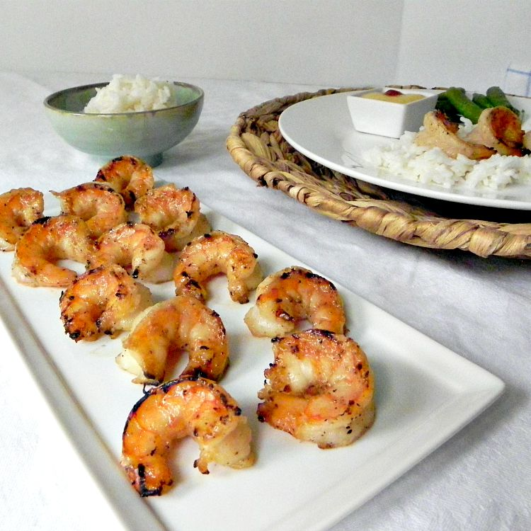 Grilled Honey Lime Shrimp - great for any night of the week. Quick and easy.