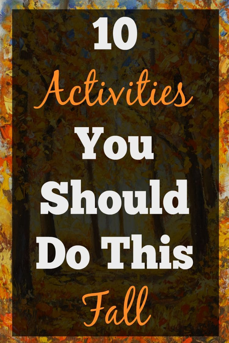 Looking for some fun family friendly fall activities? This is a great list!