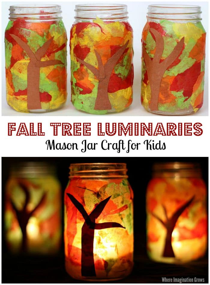 fall-tree-mason-jar-luminaries-preschool-craft