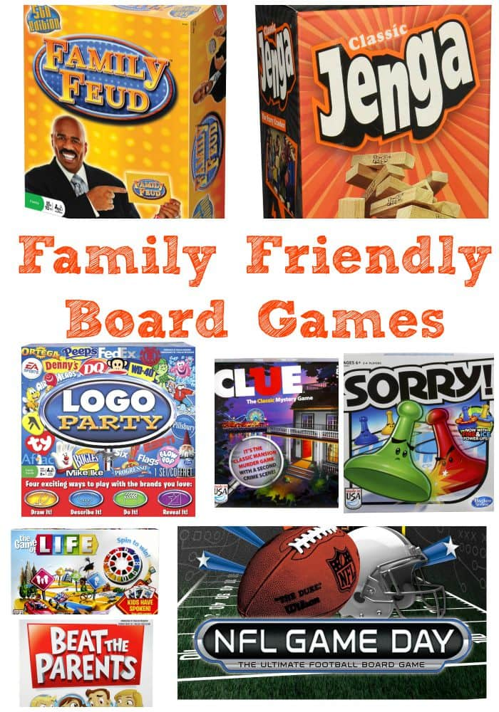 Family game nights are the perfect way to bond with your family. These family friendly board games are a great way to get in some quality family time.