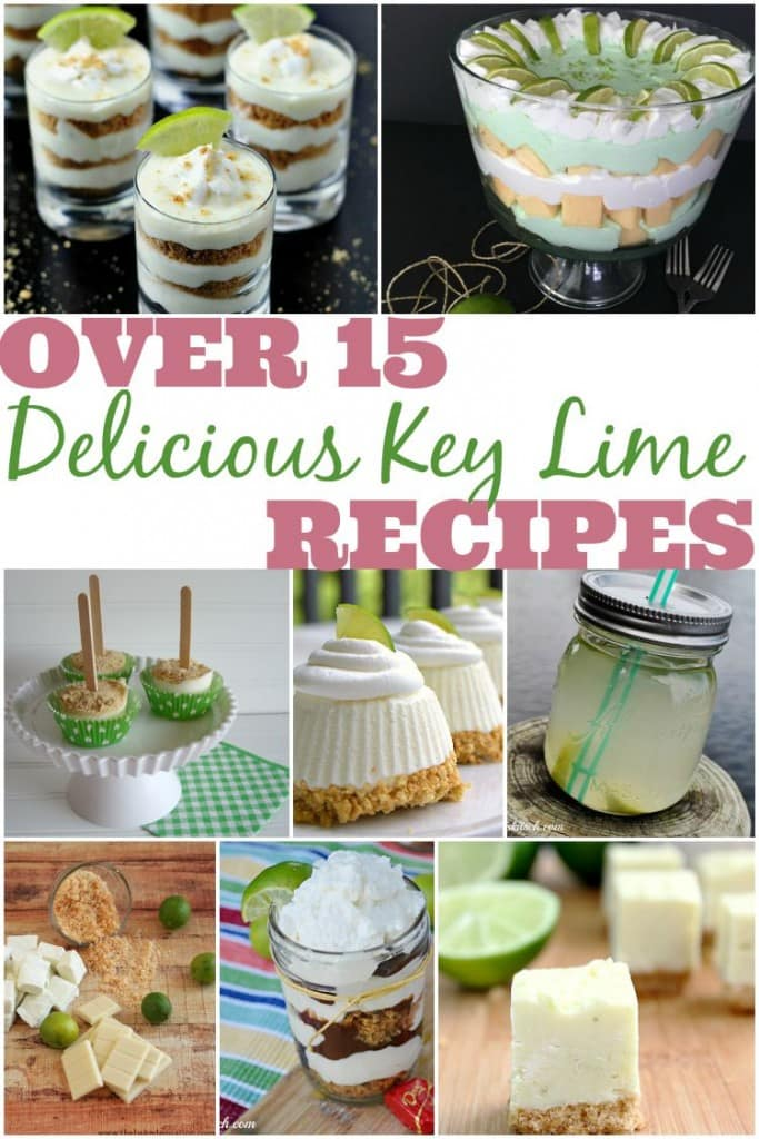 Do you love key limes? Need to find some fun and creative key lime recipes? These key lime desserts and drinks are delicious.
