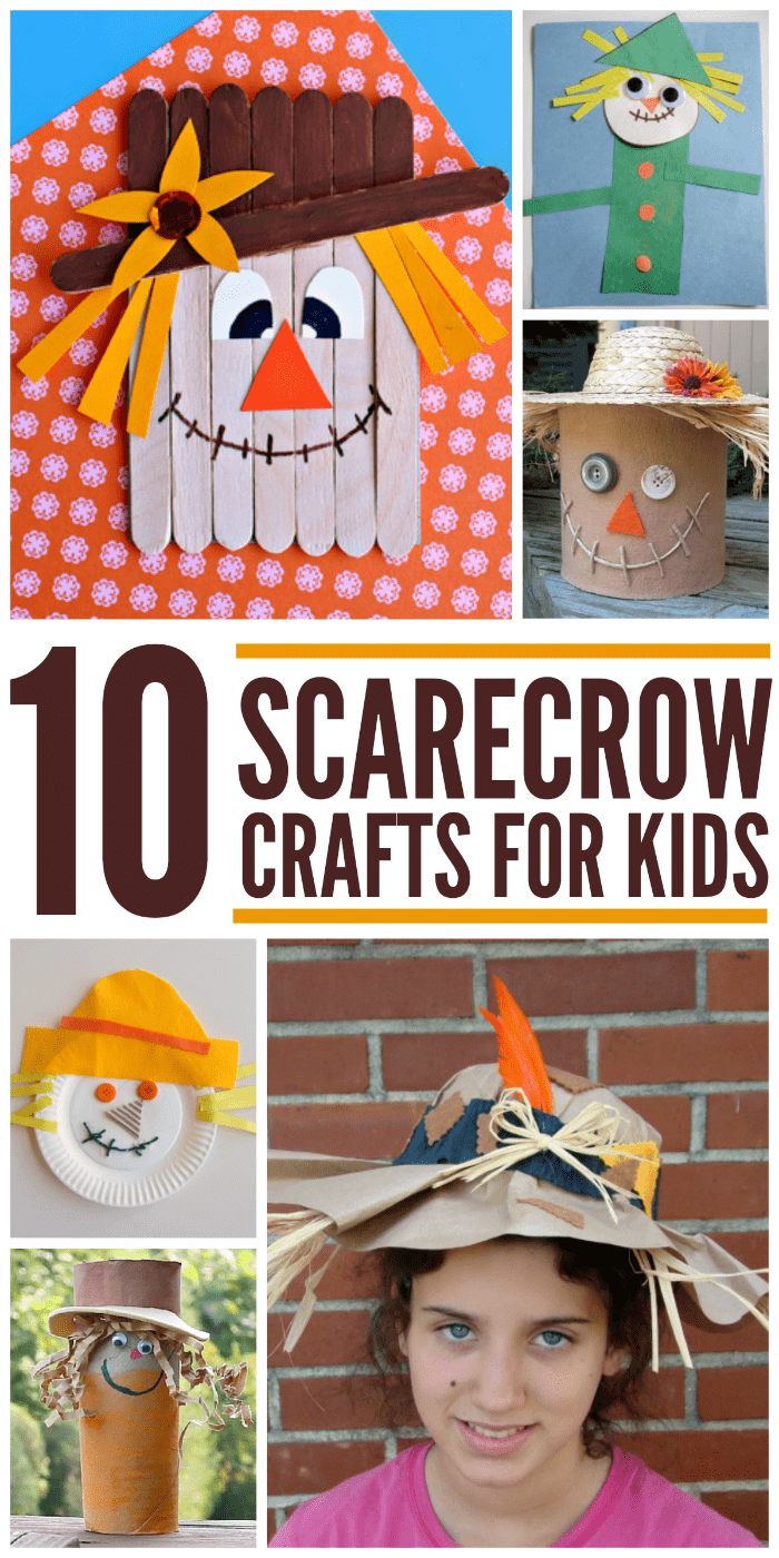 It's time to start doing all of those fun fall activities. Scarecrow crafts are at the top of my list!