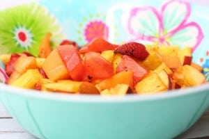 Grilled Fruit Salad Recipe