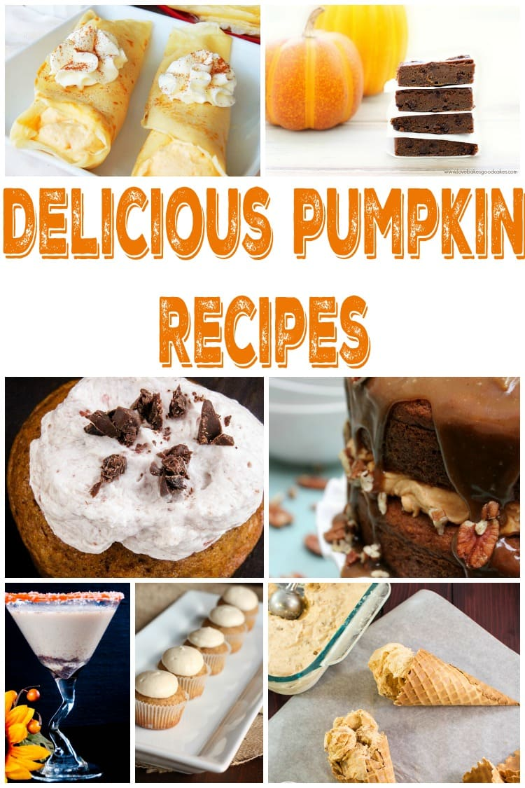 Need some easy pumpkin recipes? These 25 pumpkin recipes include desserts, pumpkin cheesecake and much more.