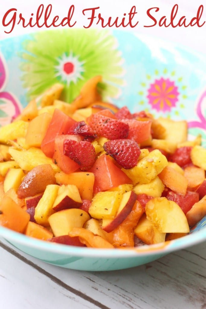 easy grilled fruit salad recipe