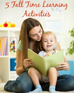 5 Fall Time Learning Activities